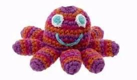 Crocheted Octopus Ornament - do good shop ethical gifts