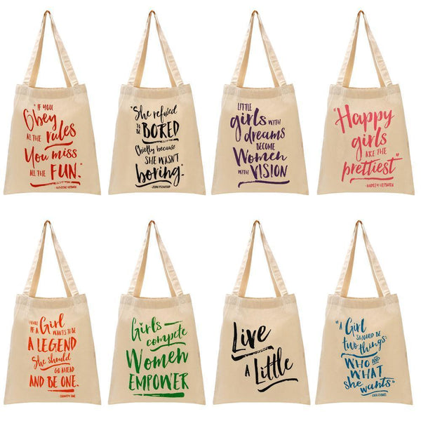 You Go Girl Tote - do good shop ethical gifts