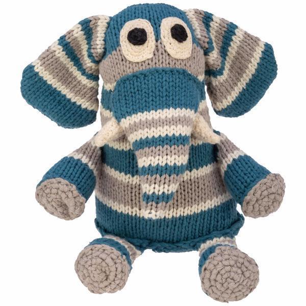 Hand-knit Snuggle Animals