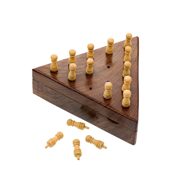 Wooden Peg Board Game