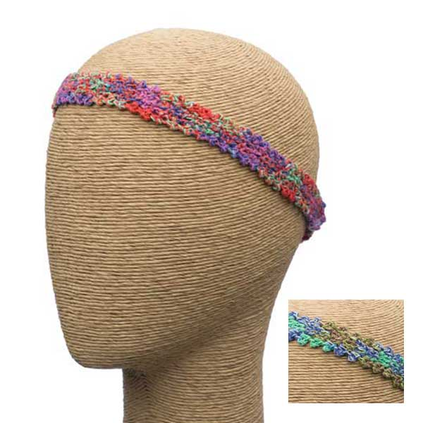 Knit Crochet Headband