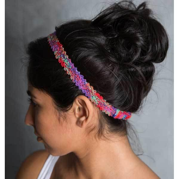 Knit Crochet Headband - do good shop ethical gifts