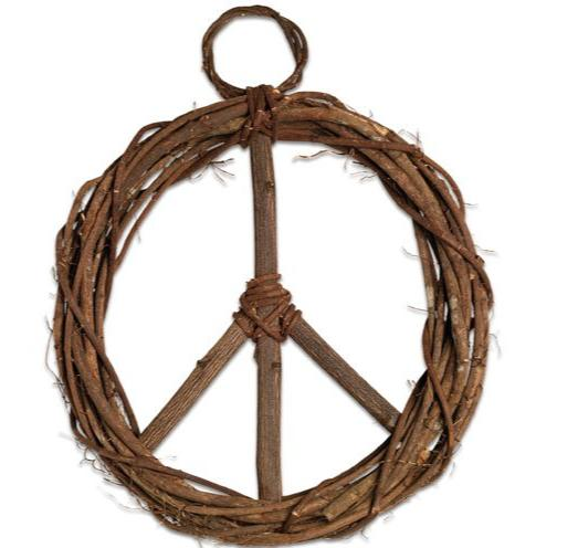 Peace Wreath - do good shop ethical gifts