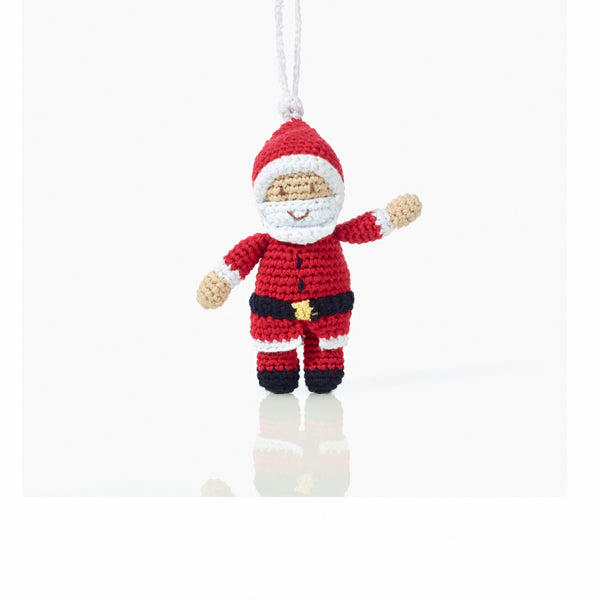 Hand Crocheted Santa and Rudolph - do good shop ethical gifts