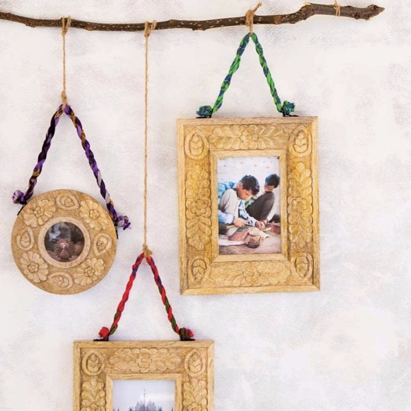 Hand-carved Hanging Frame - do good shop ethical gifts