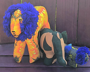 Festive African Animals - do good shop