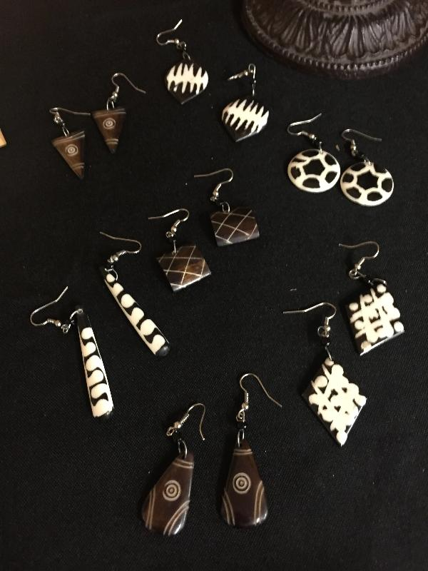 Kenyan Earrings - do good shop ethical gifts