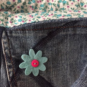 Upcycled Denim Purse - do good shop ethical gifts