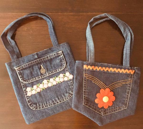 Upcycled Denim Purse
