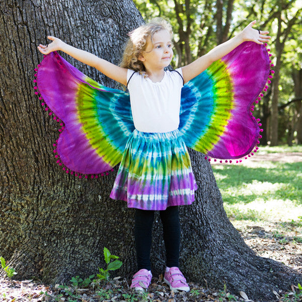 Shibori Dress Up Wings and Tutu
