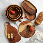 Handmade Wooden Serving Board - do good shop ethical gifts