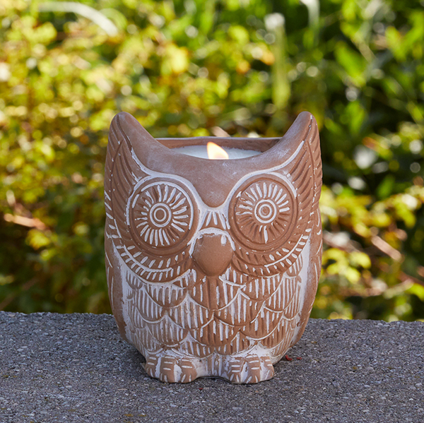 Terra Cotta Citronella Candle - do good shop ethical gifts