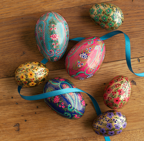 Petite Handpainted Egg set - do good shop