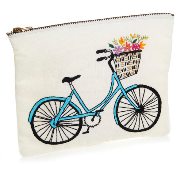 Bicycle Clutch Pouch (pre-order)