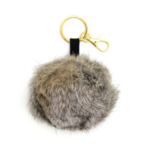 Fur Pom Keychain/Purse Decor - do good shop ethical gifts
