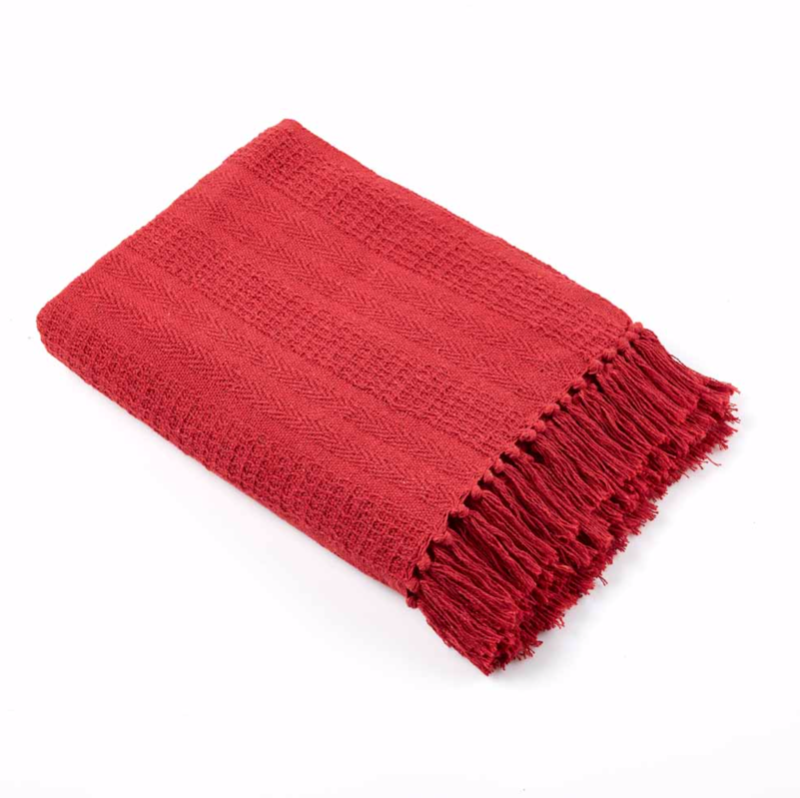 Rethread Throw Blanket - do good shop ethical gifts
