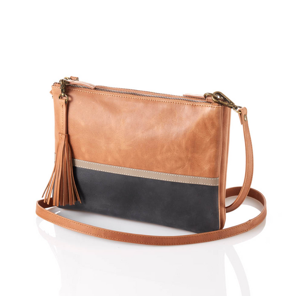 Colorblock Crossbody Purse - do good shop ethical gifts