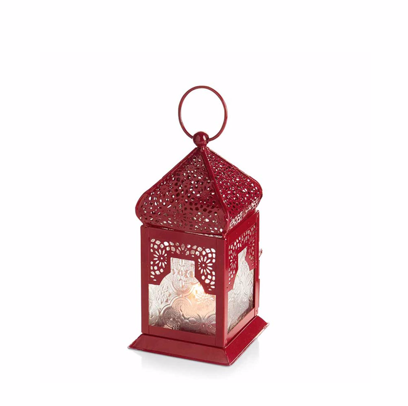 Glowing Lanterns in Holiday Red - do good shop ethical gifts
