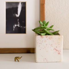 Natural Stone Square Planter