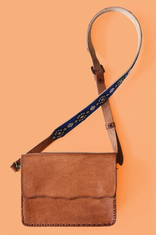 Textile-Crossbody-Brown-Orange-genuine.leather.crossbody.saddlebag.purse.do.good.shop.ethical.gifts
