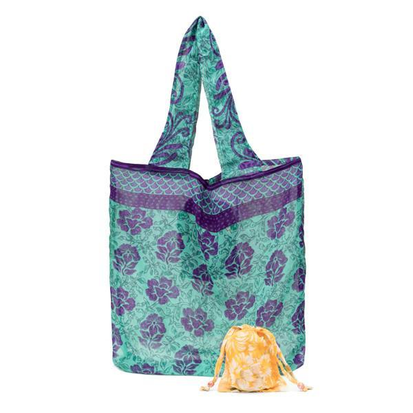 Folding Pocket Bag - do good shop ethical gifts