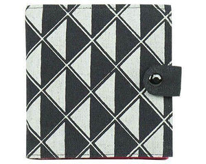 Square Slimline Cotton Wallet - do good shop ethical gifts