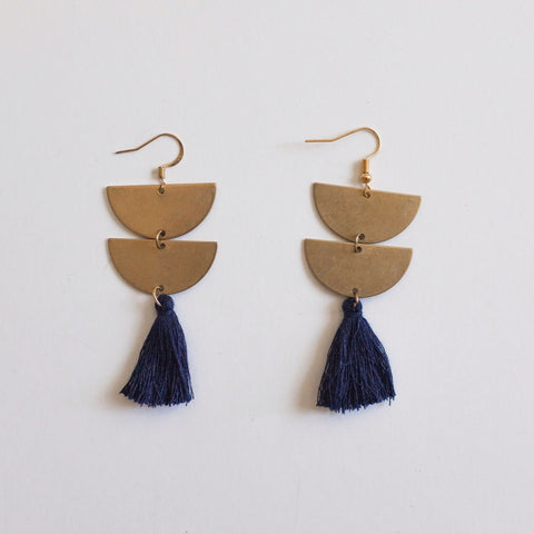 brass.tassel.earrings.navy.handmade.by.women.artisan.quality.sold.at.do.good.shop.ethical.gifts.jewelry