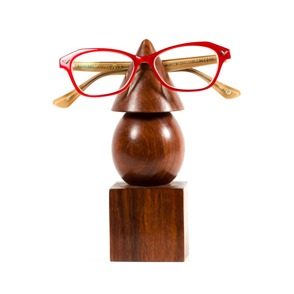 Wooden Eyeglasses Holder