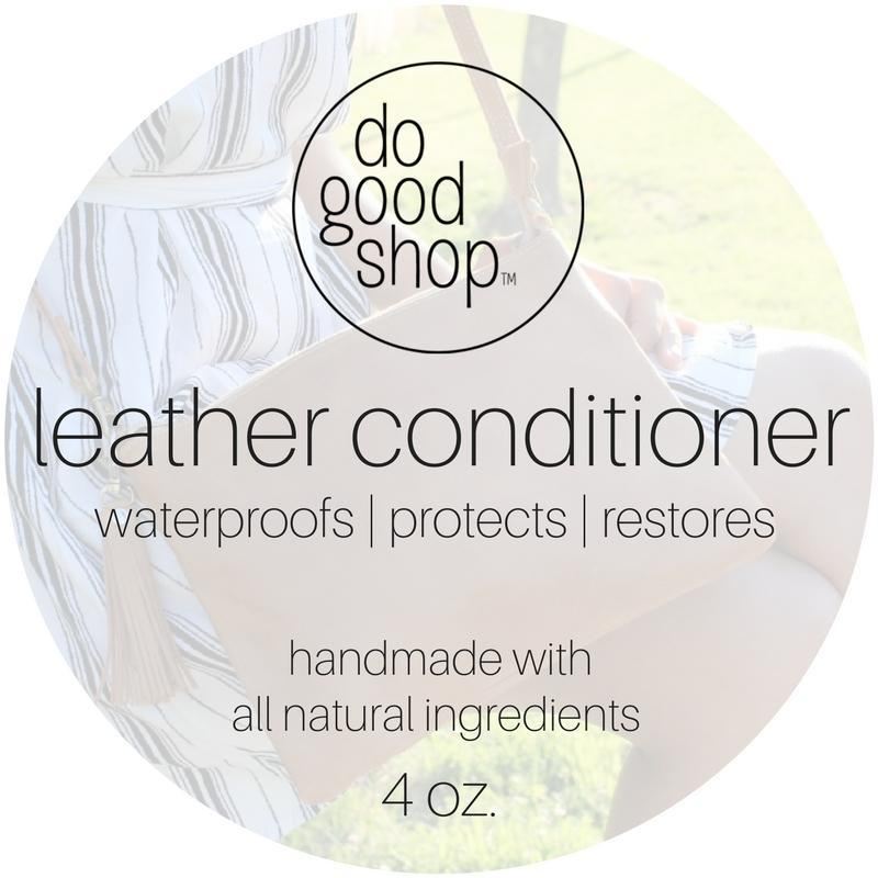 All Natural Leather Cleaners and Conditioners - do good shop ethical gifts