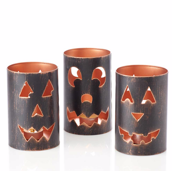 Jack O Lantern Candle Holders - do good shop ethical gifts