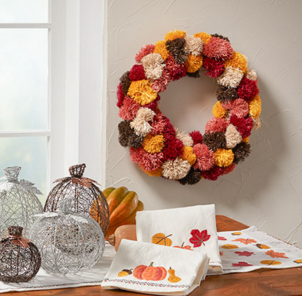 Fall Colors Welcome Wreath - do good shop ethical gifts