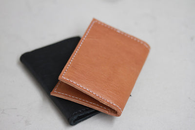 Genuine Leather Card Wallet - do good shop ethical gifts