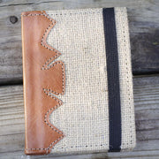 genuine_leather_up-cycled_coffee_bean_burlap_bags_journal_unlined_blank_pages_ethical_gifts_sold_at_do_good_shop_nonprofit