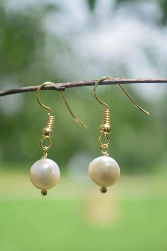 Genuine Pearl Drop Earrings - do good shop ethical gifts