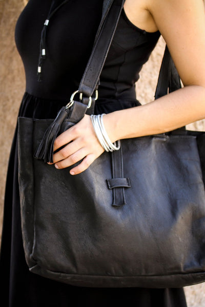 Butter Soft Leather Handbag - do good shop ethical gifts