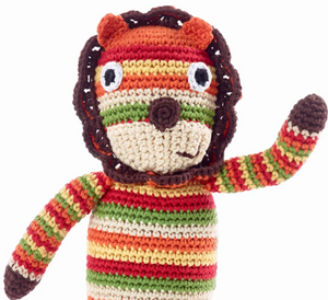 Lion Rattle Toy - do good shop ethical gifts