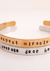 handstamped.brass.cuff.bracelet.aluminum.women.made.ethical.jewerly.for.do.good.shop.courage.dear.heart