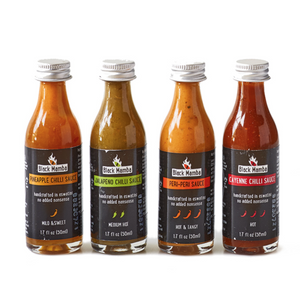 Sampler Hot Sauces - do good shop ethical gifts
