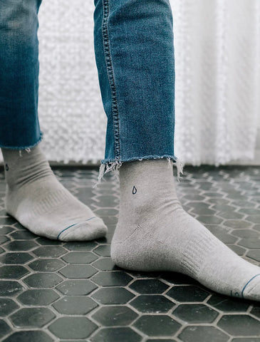 Socks That Give Water Crew Length Set