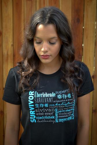 Survivor Tee Shirt - do good shop ethical gifts