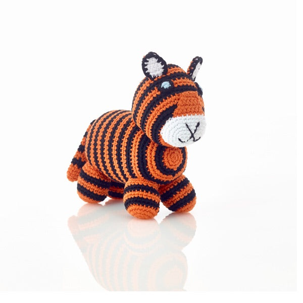 Hand Crocheted Bengal Tiger Toy - do good shop ethical gifts