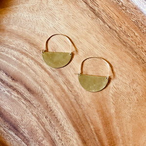 Luna Earrings - do good shop ethical gifts