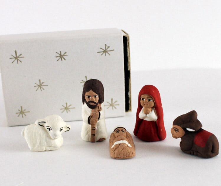 Matchbox Nativity Set - do good shop ethical gifts