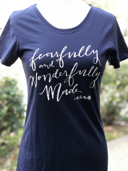 Fearfully and Wonderfully Made Tee - do good shop ethical gifts