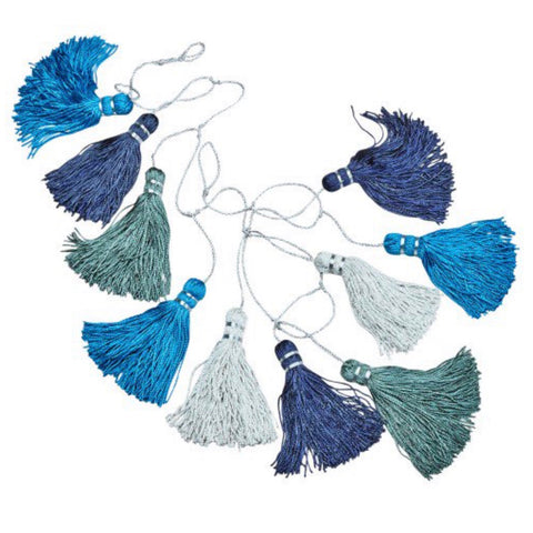 Tassel Garland Room Decor - do good shop ethical gifts