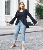 Classic Black Cardigan - do good shop ethical gifts