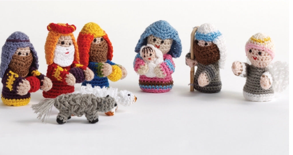 Soft Hand Knitted Nativity - do good shop ethical gifts