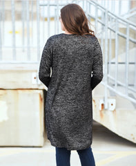 Heathered Long Cardigan - do good shop ethical gifts