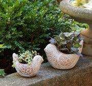 Terra Cotta Bird Planter - do good shop