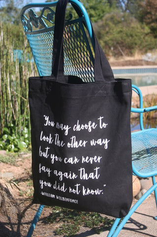 William Wilberforce Tote - do good shop